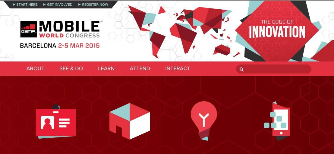 MWC Mobile World Congress Barcelone 2015