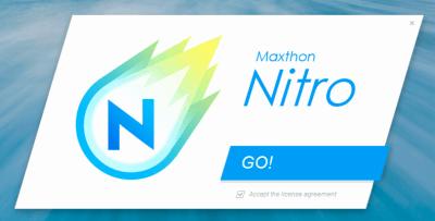 Maxthon Nitro