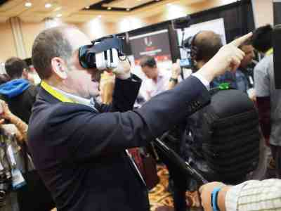 Journaliste réalité virtuelle
