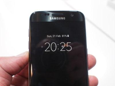 L'écran toujours allumé du Galaxy S7