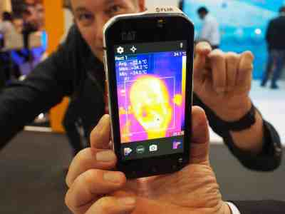 Le téléphone CAT S60 avec caméra thermique