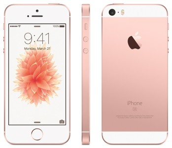 iPhone SE Canada rose