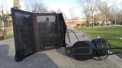 Un panneau solaire pour recharger mes écouteurs sans-fil