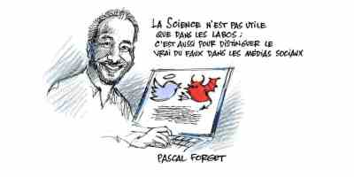 Pascal Forget #100lascience ASP par Jacques Goldstyn
