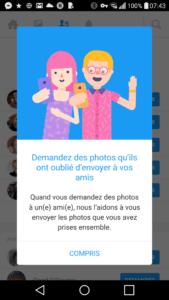 Moments Facebook App