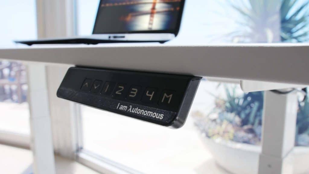 Panneau de réglage SmartDesk Autonomous Home Office Premium