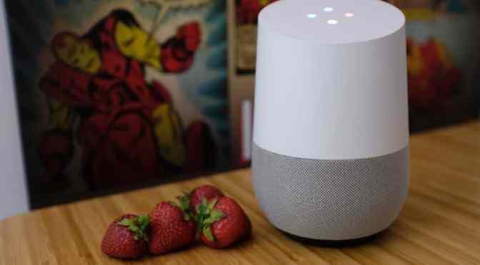 Google Home – l'intelligence artificielle s'installe chez nous
