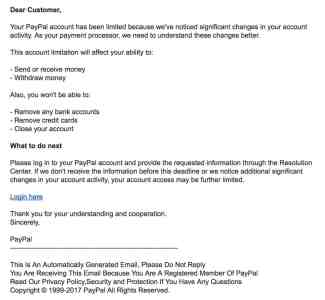 Message fraude paypal adresse gq