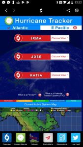 Hurricane Tracker App