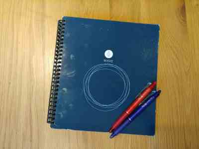 cahier Rocketbook wave micro-ondes