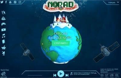 Norad suivre Père Noël