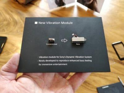 vibration module XZ2 Sony