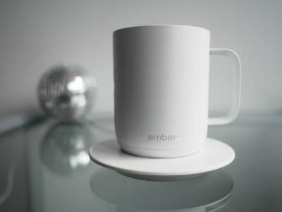 Tasse Ember chauffante café Starbucks