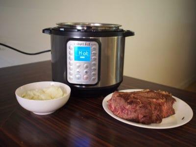 Boeuf rôti de palette rapide Instant Pot trucs pratiques astuces recette