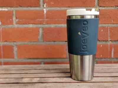 Tasse joeveo température mug café voyage voiture