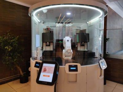 San Francisco robot café cafex robotix