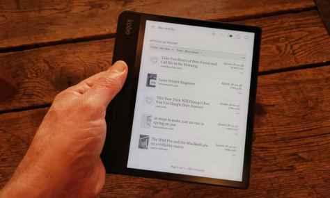 Kobo Forma liseuse ebook