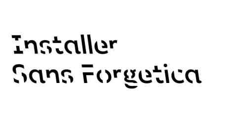 sans forgetica police gratuite ne pas oublier memoire