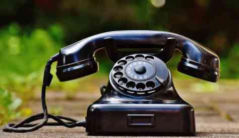 téléphone ligne fixe cellulaire couper
