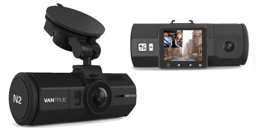 Vantrue N2 Pro dash cam caméra voiture capot