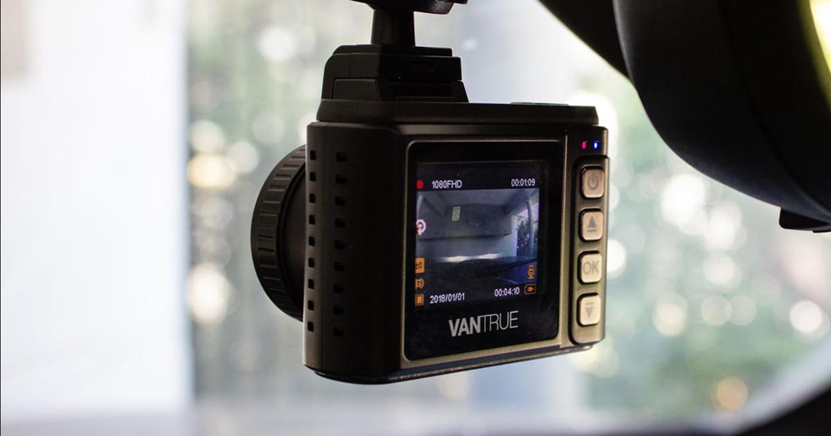 La caméra de capot (dash cam) N1 Pro de Vantrue: un oeil sur de route