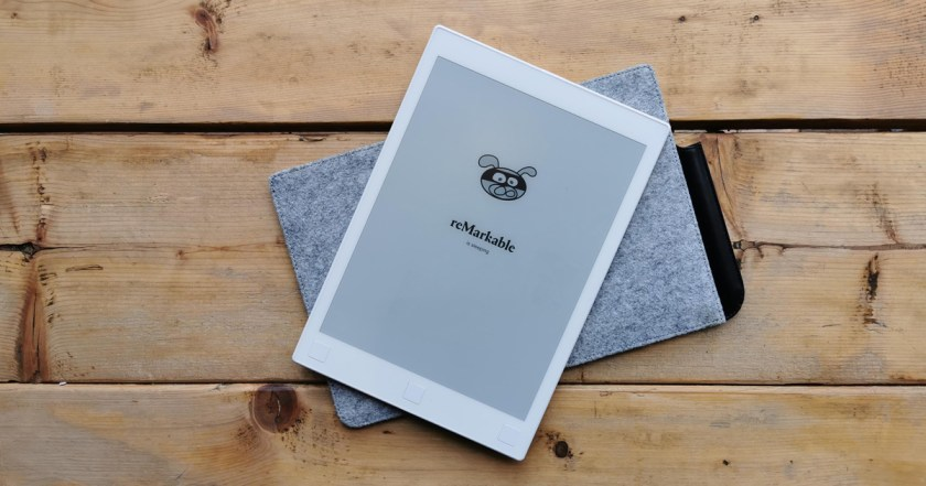 remarkable tablette epaper eink test essai e-ink