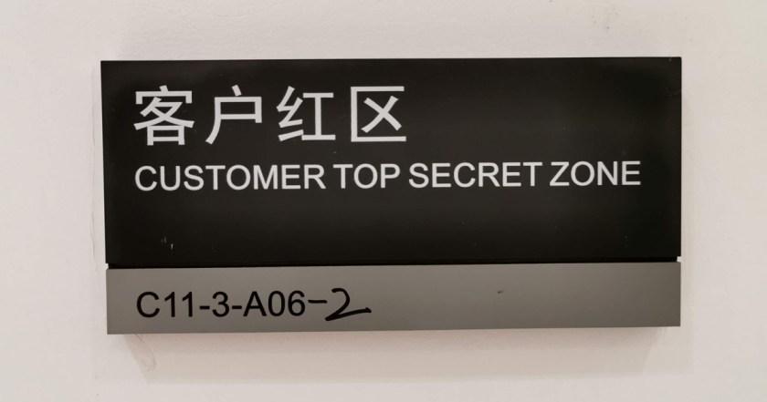 Top secret zone huawei cybersecurity
