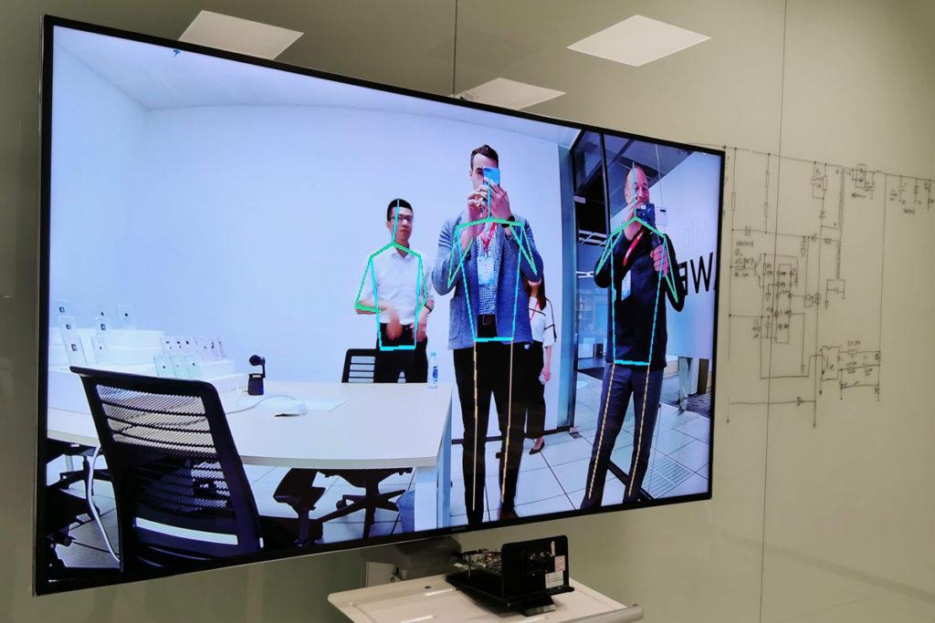 laboratoires Huawei Chine Shenzhen