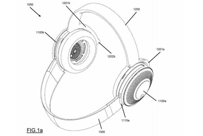écouteurs qui filtrent l'air Dyson brevet