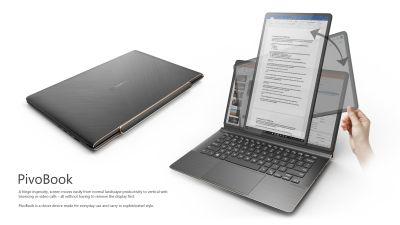 PivoBook Compal laptop écran qui pivote 90 degrés