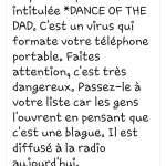 dance of the dad virus dangereux