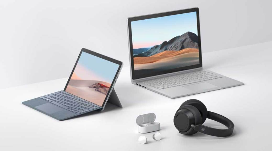 Nouveautés Surface Microsoft 2020
