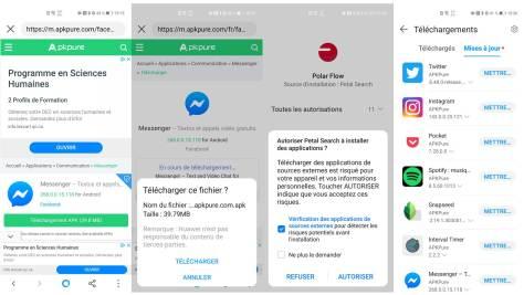 Comment trouver et installer des applications avec Petal Search Huawei AppGallery P40 Pro Canada
