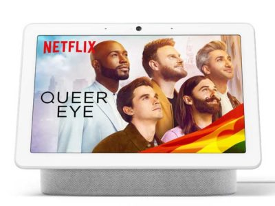 Nouvelles technos Netflix dans Google Nest Hub Max