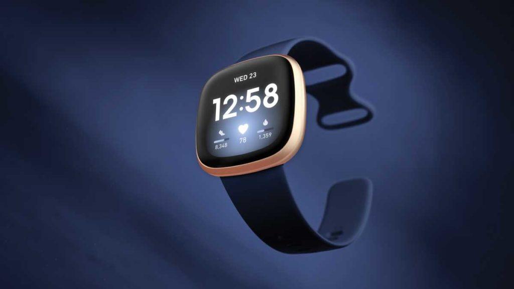 Fitbit versa 3 bracelet connecté montre