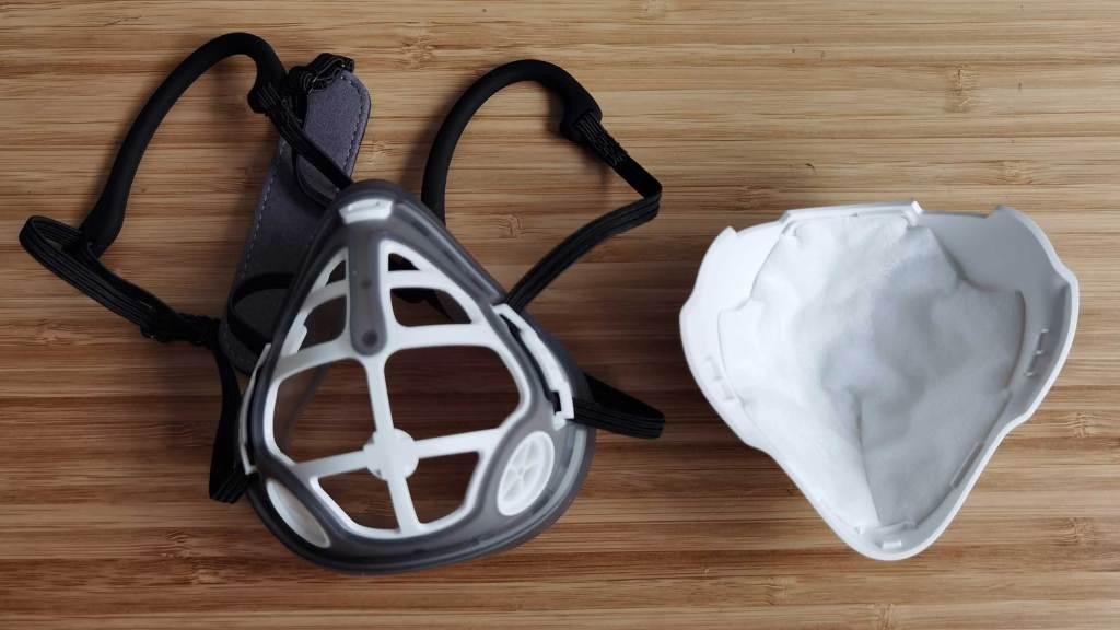 masque respirateur curve 02 filtre remplacement
