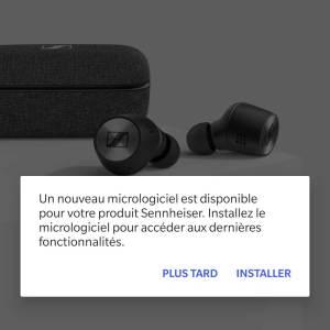 Mise à jour écouteurs sans fil Sennheiser Momentum True Wireless 2