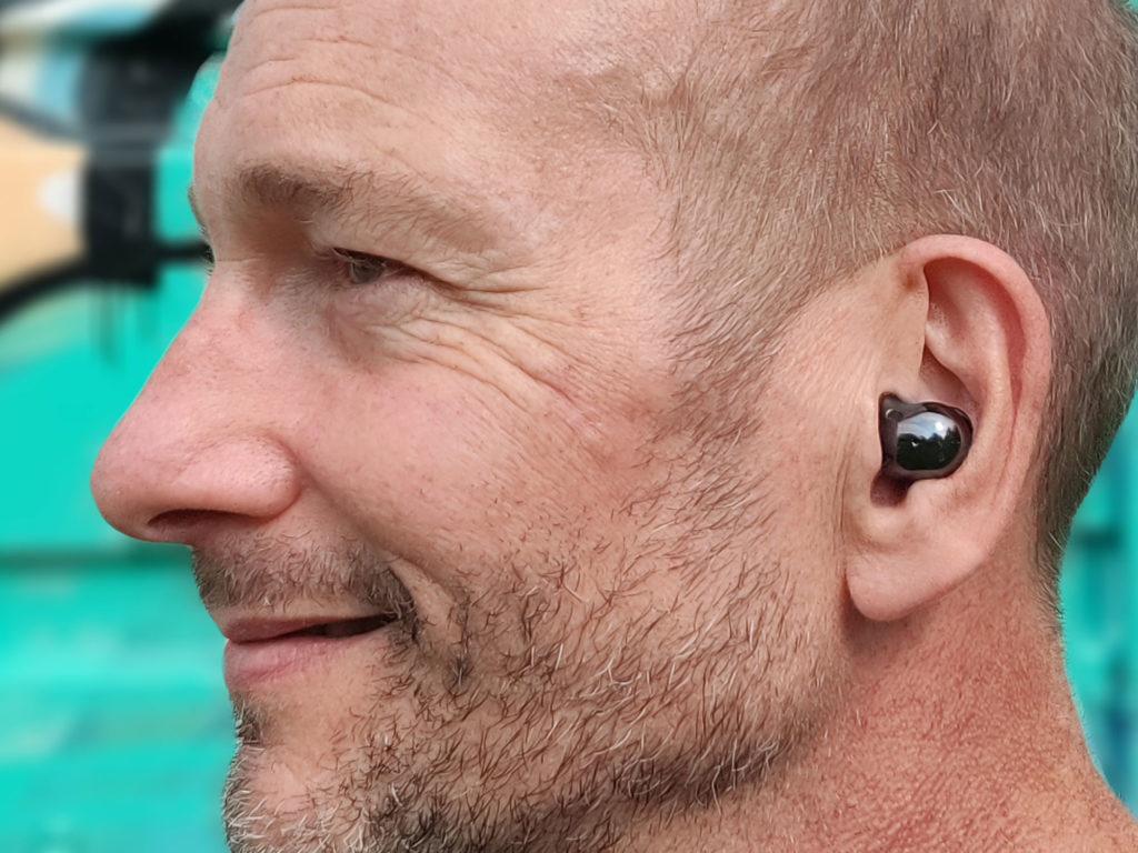 Galaxy Buds live Samsung écouteurs sans fil Pascal Forget profil