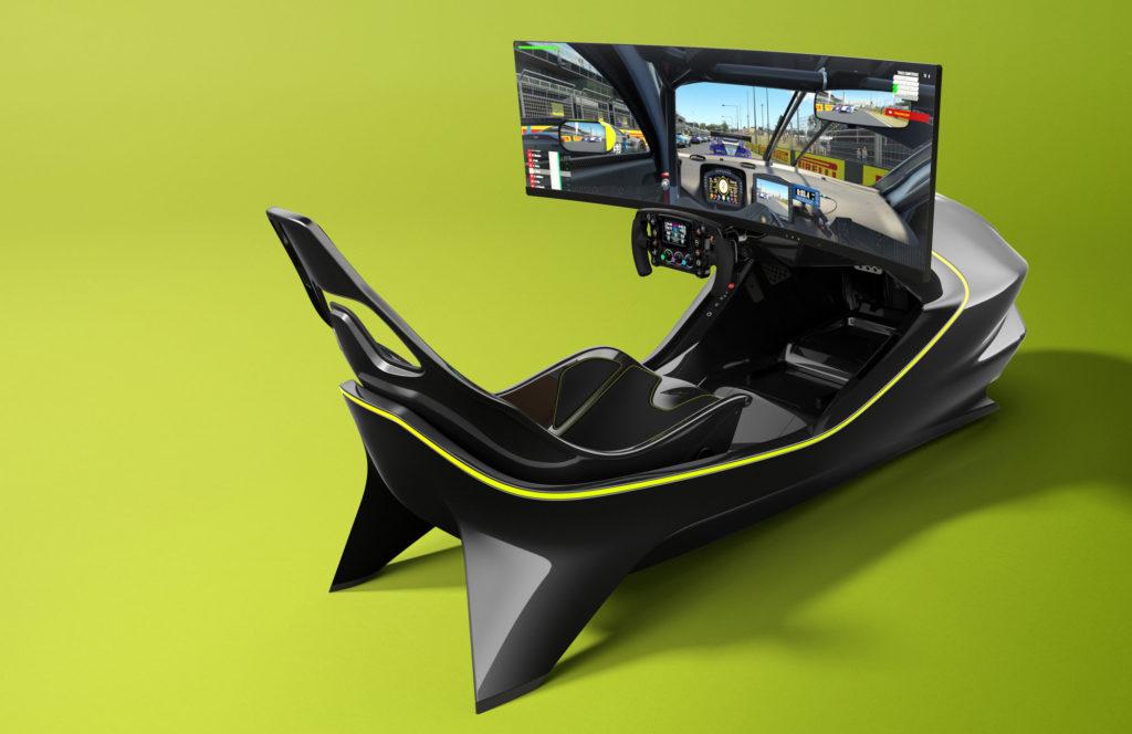 simulateur de course Aston Martin AMR C01