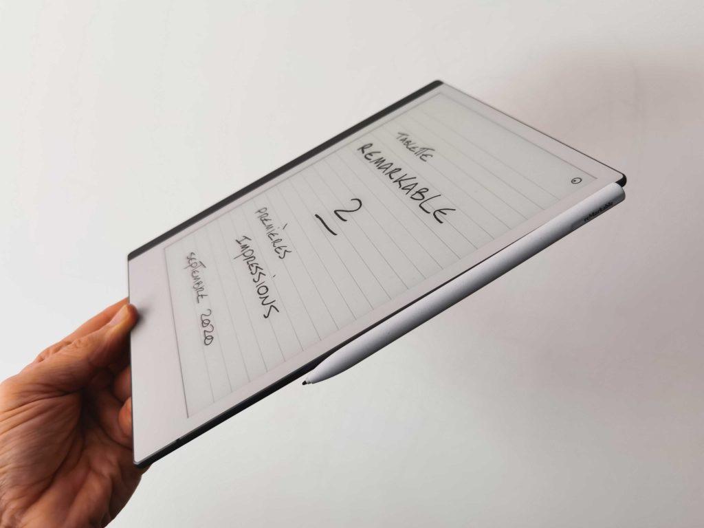 tablette remarkable 2 profil mince