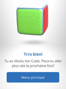 Cube rubik comment réussir solution
