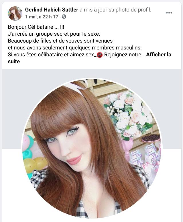 faux compte facebook
