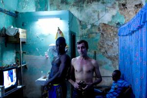 Backstage photo workshop in Havana, Cuba 2012