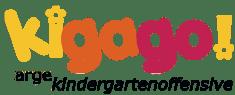 Logo kigago - Arge Kindergarten Offensive