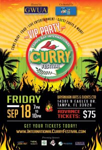 2015 VIP Night Curry Festival