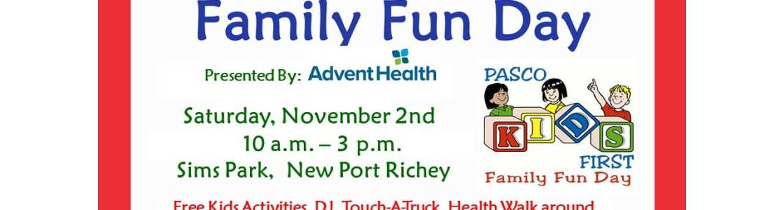 12th Annual Pasco Kids First Family Fun Day