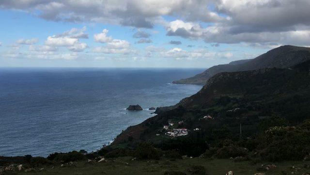 Vistas de Santo André de Teixido
