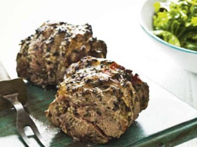 Greek Style Mini Spring Lamb Roasts
