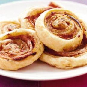 Pizza Puff Pinwheels