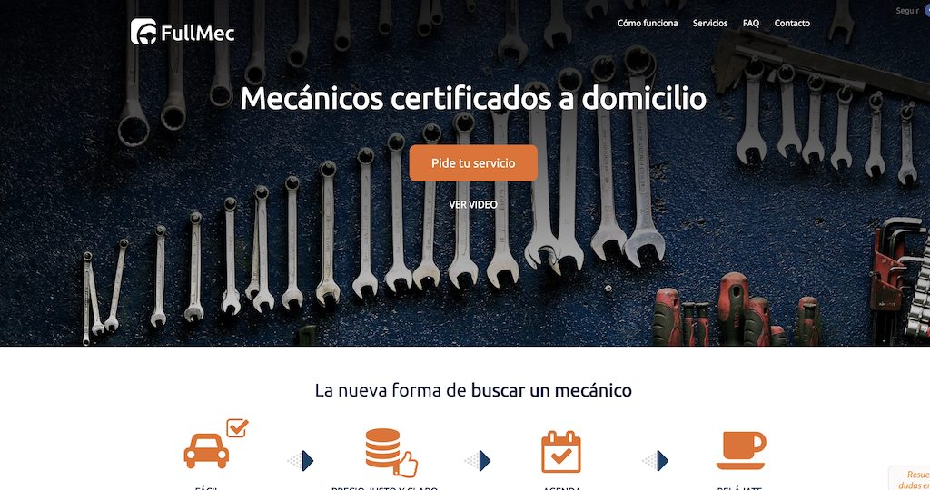 fullmec.cl - Mecánicos certificados a domicilio